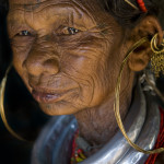 Gadaba woman portrait